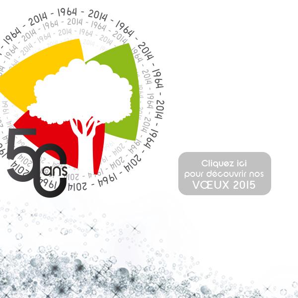 Le groupe Baudelet Environnement vous présente ses meilleurs voeux pour l'année 2015