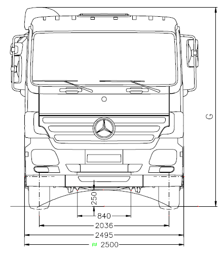 Camion Ampliroll 6×2
