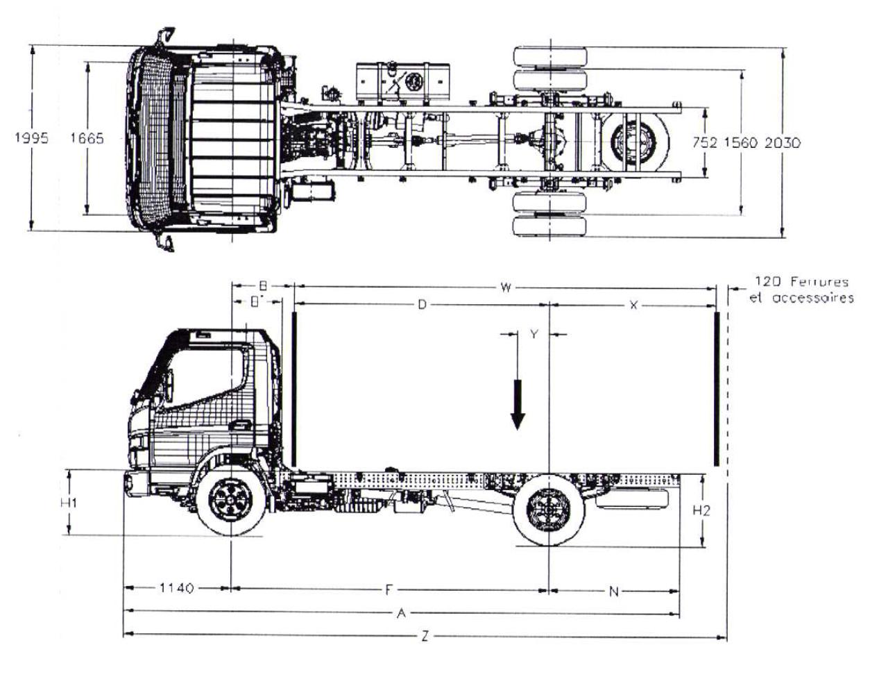 Camion 7,5 tonnes