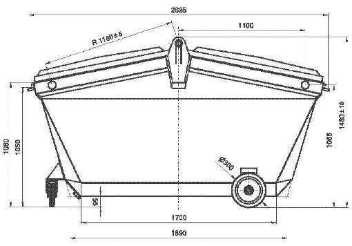 Bac Industriel 5 m³