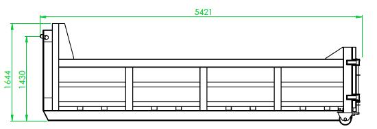Benne 8 m³