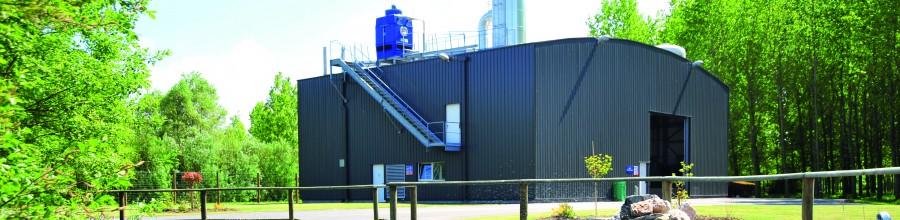 L'installation de traitement et de valorisation des eaux usées